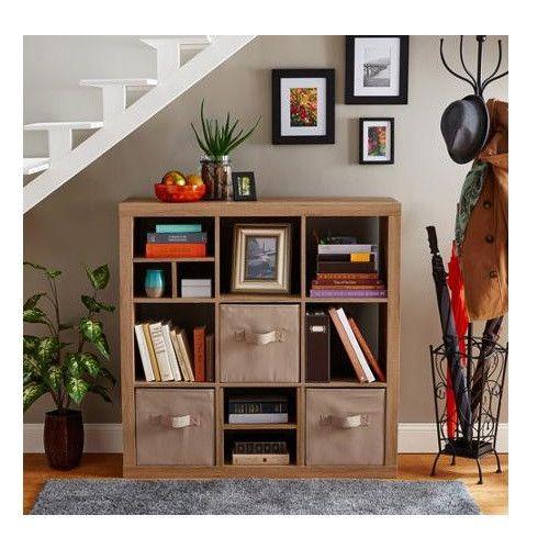 9 Cube Storage Unit Product Description: This versatile 9 cube storage bookcase…