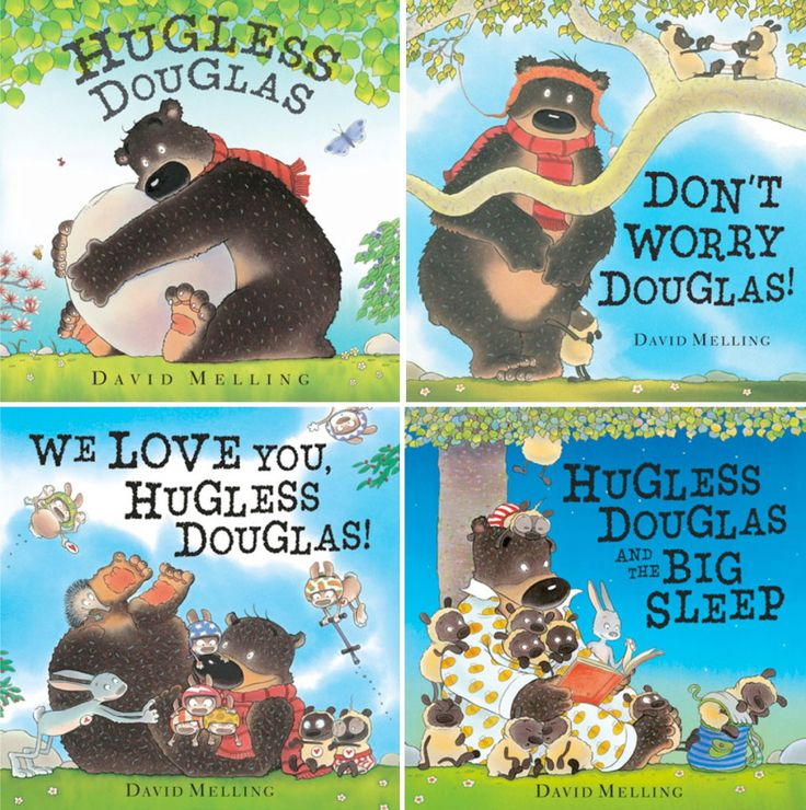 Today on the blog: My kids' new favorite bedtime books - the Hugless Douglas series !