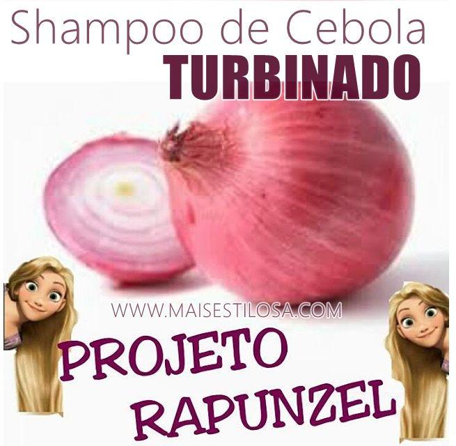 O shampoo bomba de cebola turbinado é ótimo para ajudar a colocar um fim na queda de cabelo e estimular o crescimento dos cabelos.