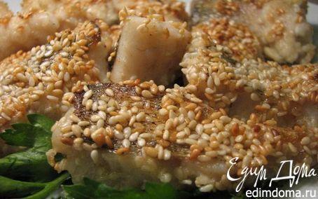 Судак в кунжуте | Кулинарные рецепты от «Едим дома!» рыба