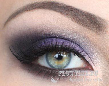 Вечерний макияж для брюнеток. Фото-урок - http://vipmodnica.ru/vechernij-makiyazh-dlya-bryunetok-foto-urok/