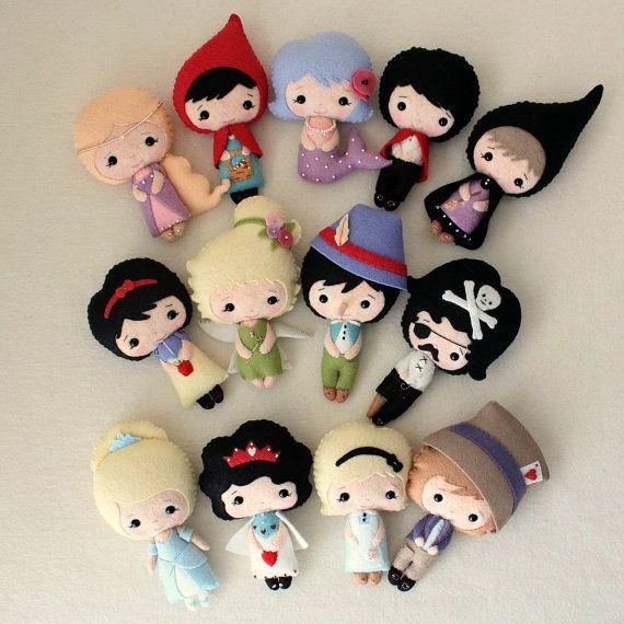 Fairy Tale Dolls.. More needle felting inspiration