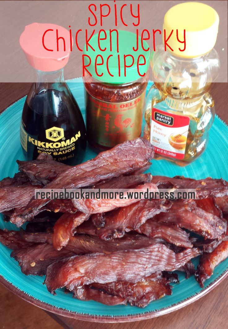 DIY Chicken Jerky - Lean and healthy snack - simple ingredients - so much cheaper than storebought