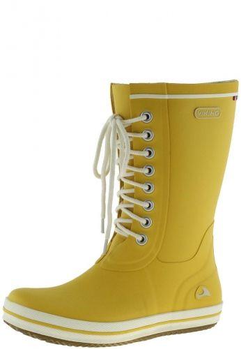Viking RETRO LIGHT yellow women´s rubber boots