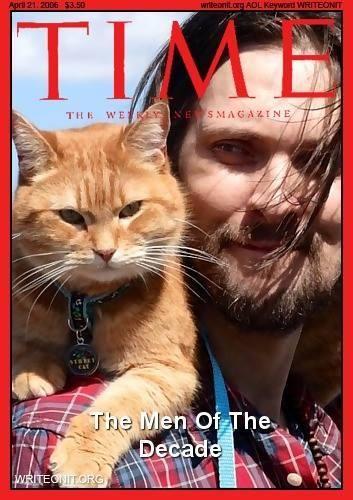 Portada Times Un gato callejero llamado Bob