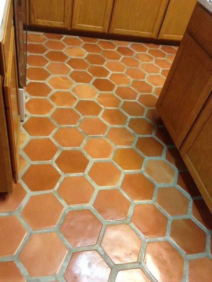 terra-cotta tile | Patio & Path | Tiles, Terracotta floor
