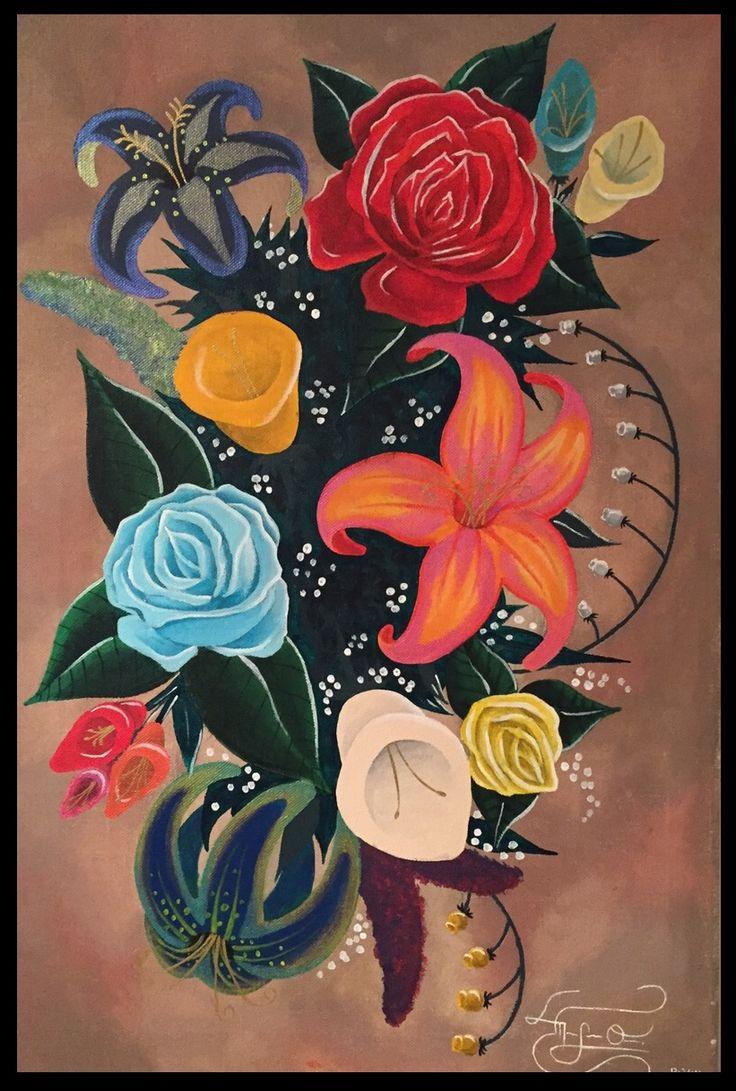 17 best m uniques images by marco orellana on pinterest acrylic pretty flowers painting art acrylic flowers canvas mtodart muniques mightylinksfo