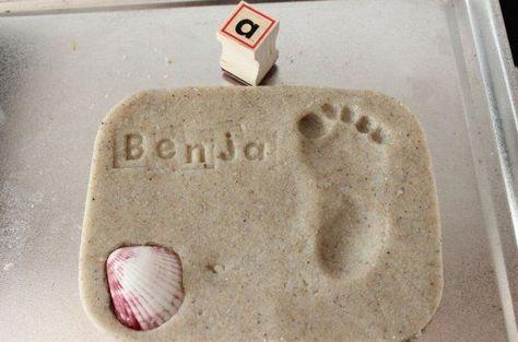 Recuerdo de su huella sobre la arena | Blog de BabyCenter