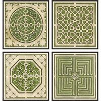 Large Garden Plans in Green