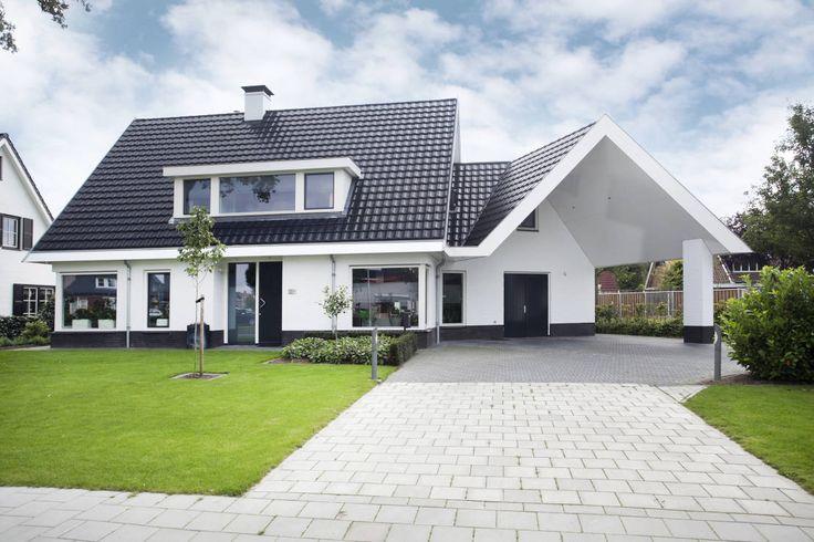 58 beste afbeeldingen over mooie huizen op pinterest dakpannen moderne boerderijen en ramen - Mooie huis foto ...