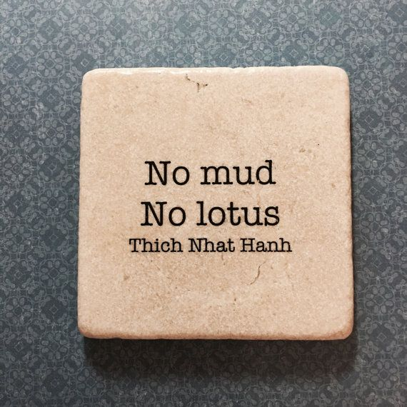 Thich Nhat Hanh Decorative COASTER Marble Inspirational