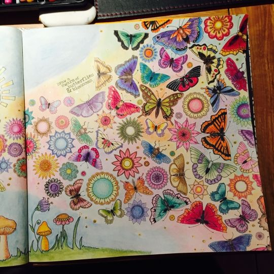 Johanna Basford | Picture by HelenK | Colouring Gallery