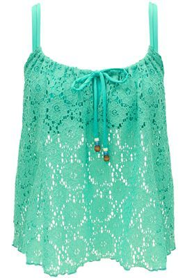 Lacey Loose Turquoise Top - tuck into white highwaisted shorts, or, wear over top for a flowy look !