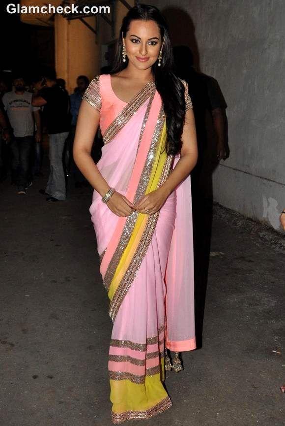 Sonakshi Sinha Looks Like A Million Bucks In A Manish Malhotra Sari