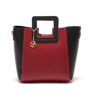 Kožená kabelka Carla Ferreri 3002 Rosso | Bonami