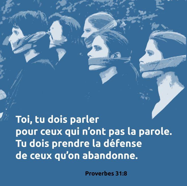 Proverbes 31: 8                                                       …