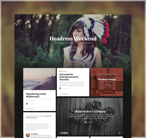 The Ultimate Trends for UI Inspiration: Animated Concepts, Menus, SVG graphics and more - Image 34 | Gallery