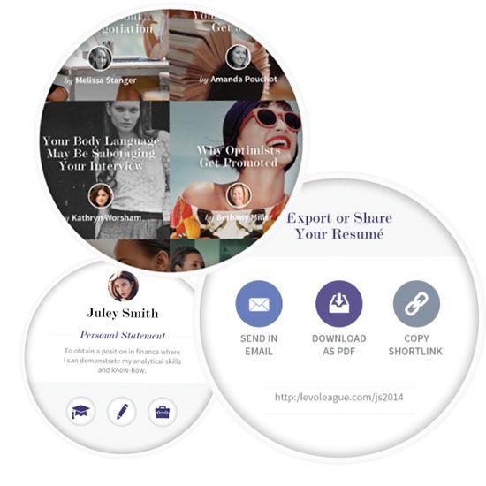 The Levo Resume Builder App | The Nenja | Job Search | Resumes, CV ...