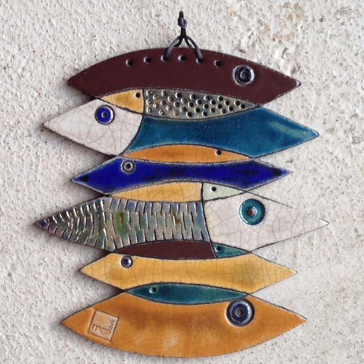pesci compositi da appendere