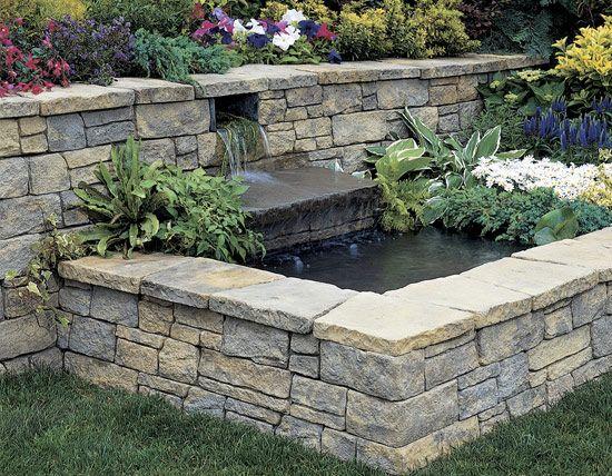 Best 25 Retaining wall bricks ideas on Pinterest Garden