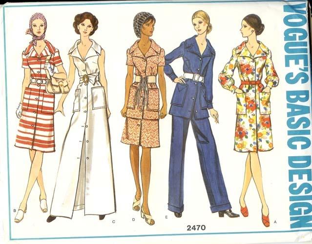 Qipao Dress Pattern Vogue 2470- Yea...