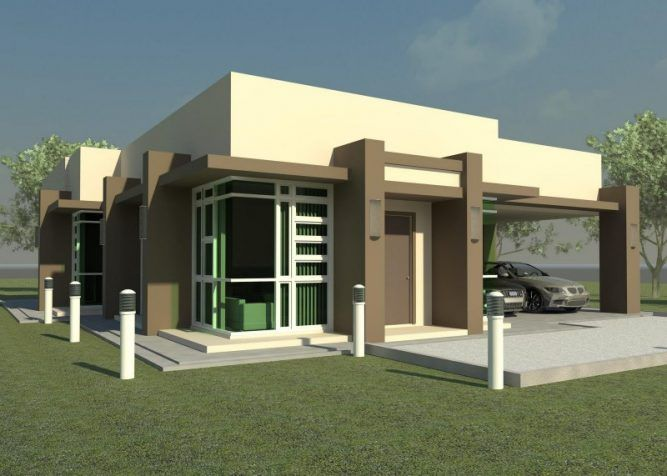 Modern Flat Roof House Plans Pinoy House Designs Pinoy House Designs Small House Exteriors Flat Roof House Small House Design Exterior