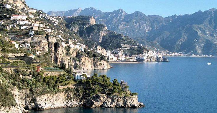 Transport på Amalfikusten (Campania) Italien