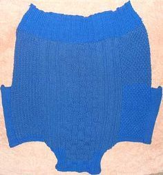 Knitted dog sweater for large dog. Now to remember how to knit...