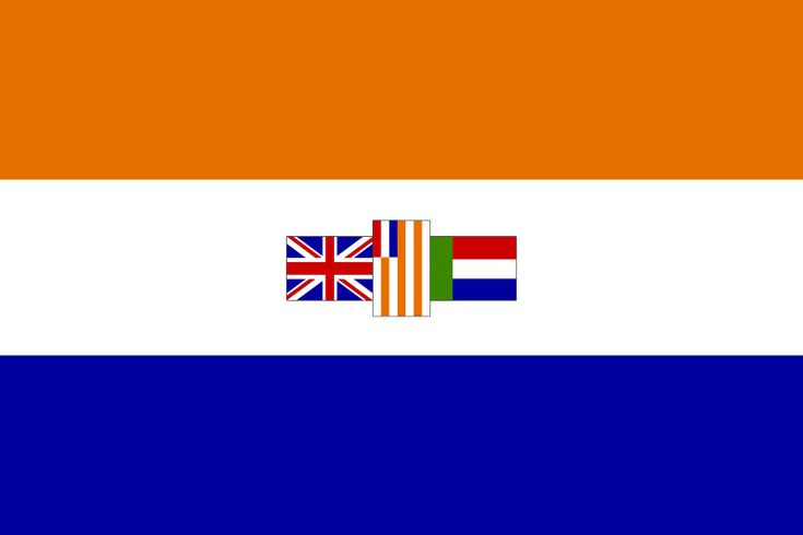 Old South African flag - Don't know WHY they had to go and change our flag.. There was absolutely NOTHING wrong with it.. Oranje, Blanje, Blou