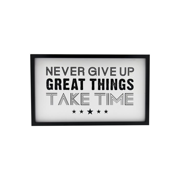 Bilde Never give up