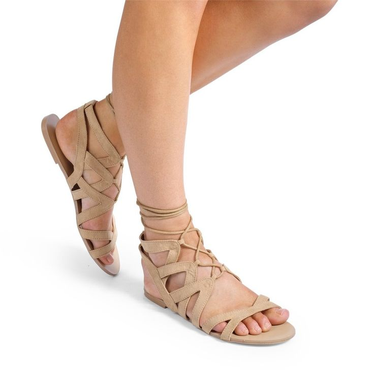 Makani Sand Suede Sandals by Billini