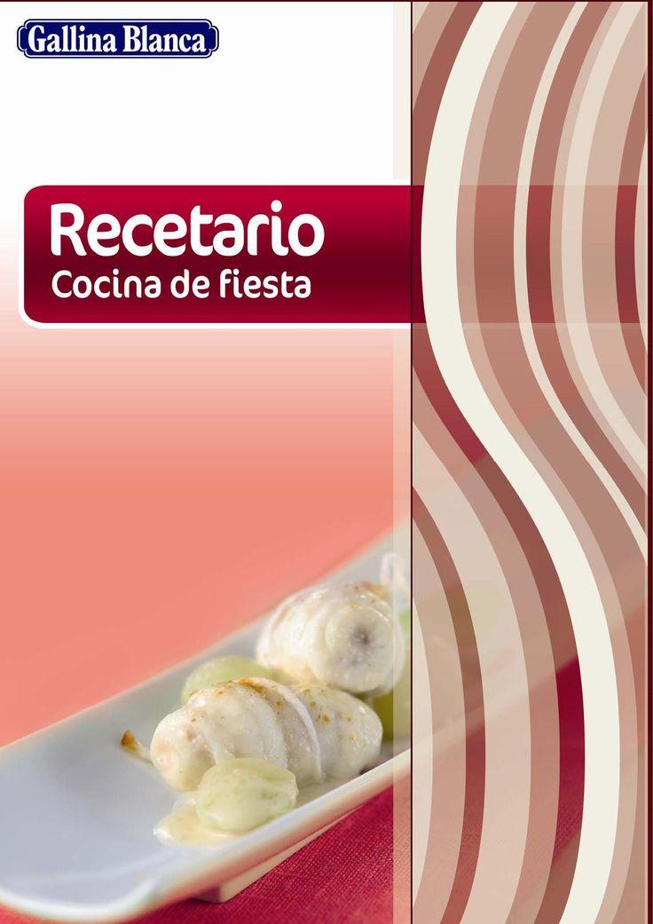 Recetario de cocina Para que hagamos nuevas y ricas recetas