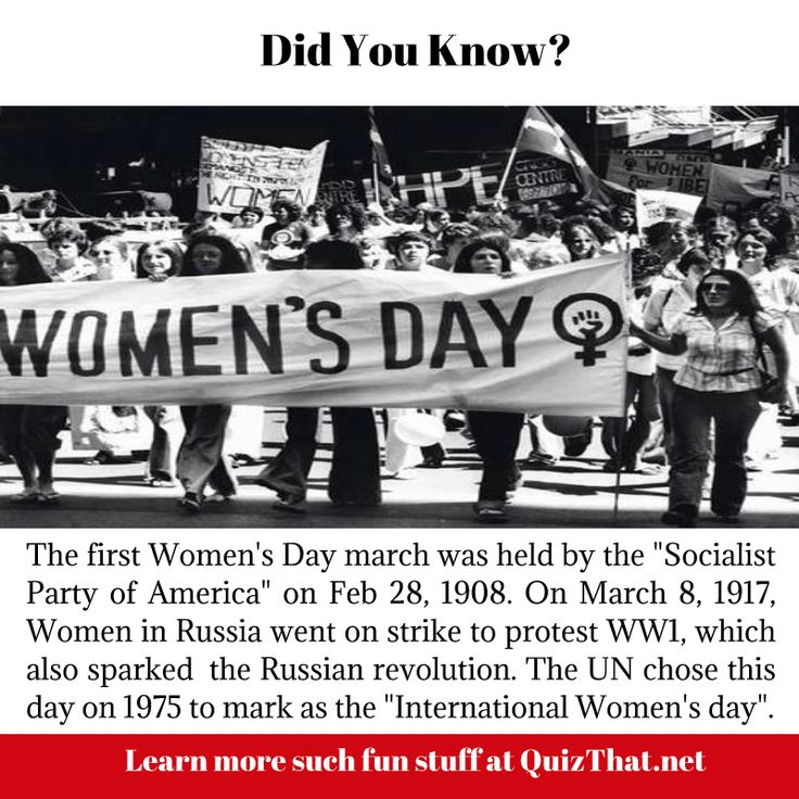 Did you know why March 8th is celebrated as International Women's Day ?