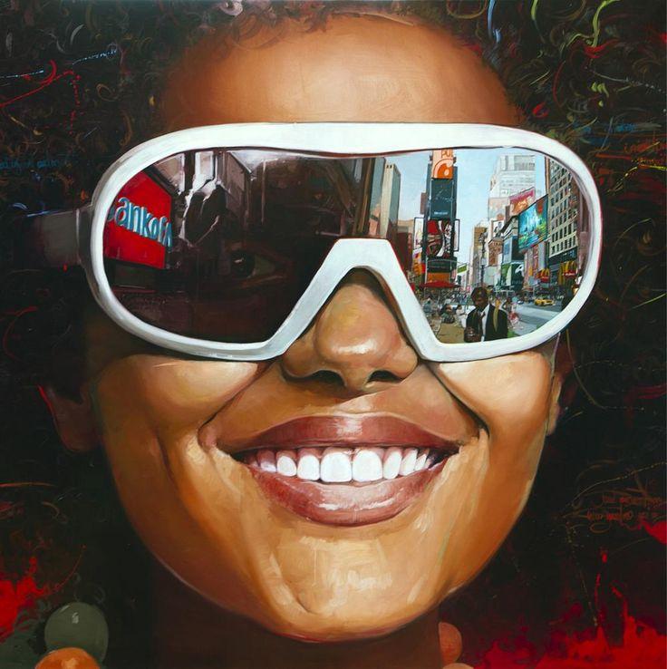 Esperanza. Oleo sobre lienzo. 200x200 cm