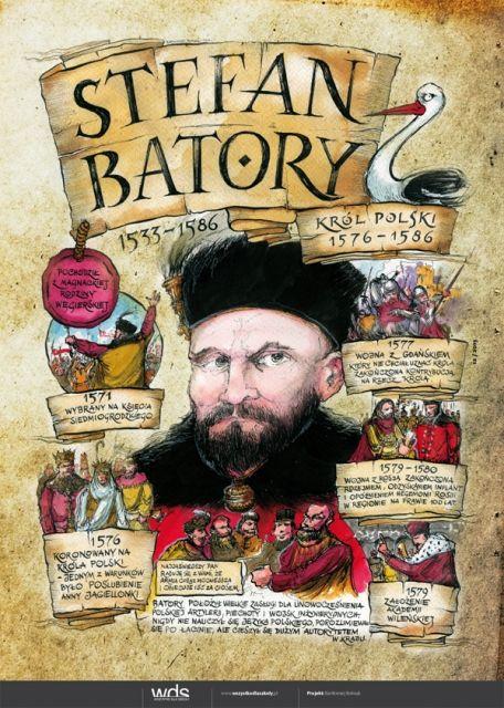 Stefan Batory - Poczet królów polskich -