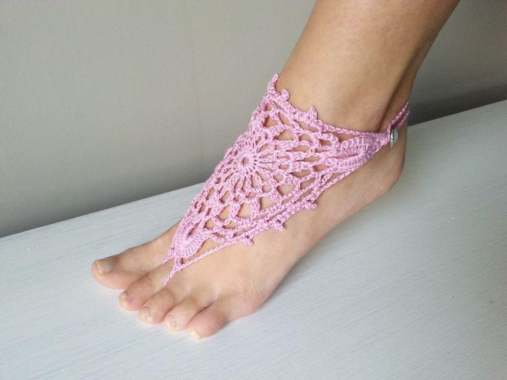 szydełkowa ozdoba na stopę, video tutorial