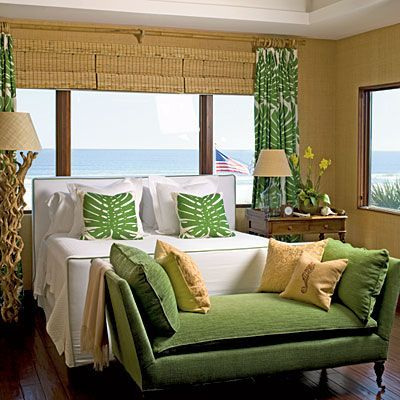 Beach Chic Bedroom - Editors' 50 Favorite Coastal Rooms - Coastal Living: