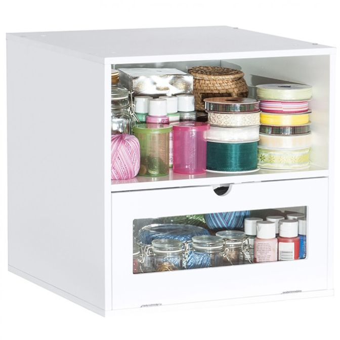 Jetmax Simply Built Craft Storage Flip Door And Shelf