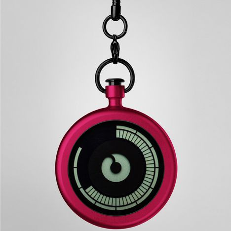 Titan digital pocket watch by Ziiiro now in stock at Dezeen Watch Store