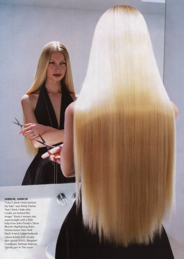 Extra Long Blonde Straight Hair Hair Makeup Beauty