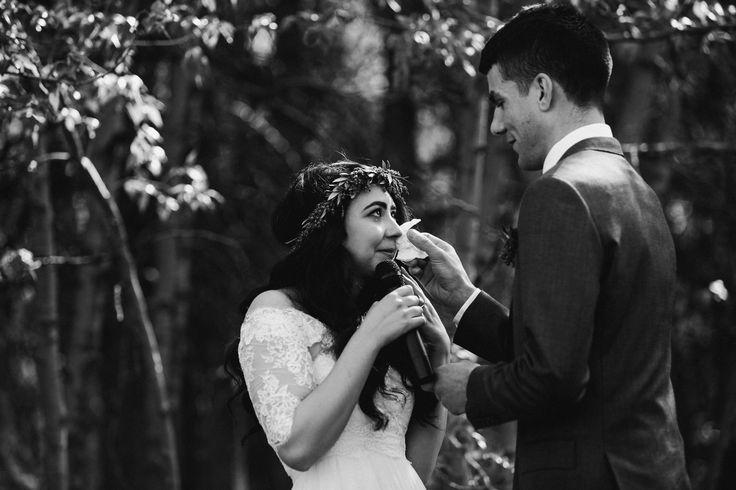 #wedding #tears