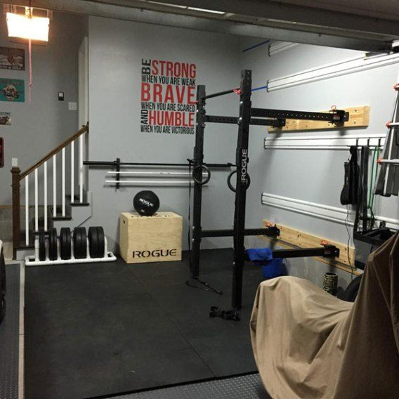 Power rack in basement u2013 name