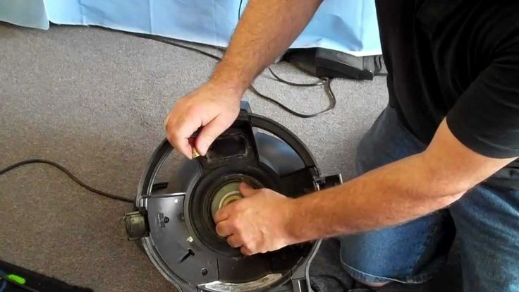 REPAIR CHECK BELT ON RAINBOW VACUUM CLEANER AT VAC DOC MODESTO STOCKTON SAC