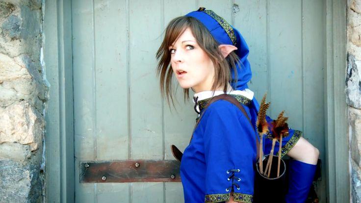 Lindsey Stirling: Legend of Zelda HD Wallpaper