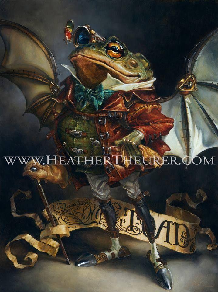 Heather Theurer - художница-самоучка, которая училась на работах великих художников эпохи Ренессанса. В ее работах много религиозных символов, как и в работах великих мастеров той эпохи. Однако, Хитер не остановилась в рамках одного жанра, она также создает прекрасные работы в стиле фэнтези. Pin❤️Me  Follow us: fb.me/aboveart.ru  instagram.com/above.art.ru  twitter.com/aboveart_ru  vk.com/aboveart  ok.ru/aboveart