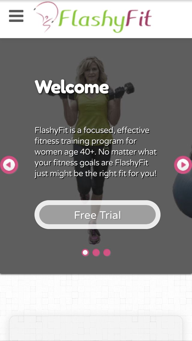 "Check out FlashyFit.com and click the ""Free Trial"" button to receive you complimentary exercise cards.  It's as easy as that!"