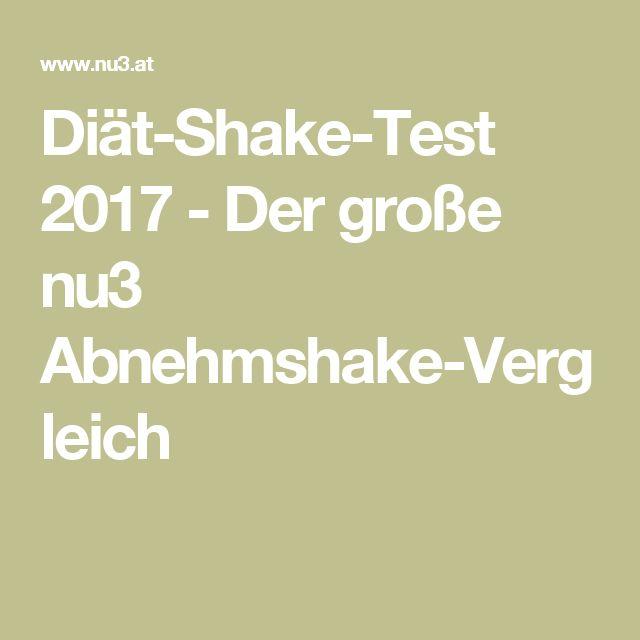 Diät-Shake-Test 2017 - Der große nu3 Abnehmshake-Vergleich