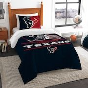 Houston Texans Draft Twin Comforter Set by Northwest