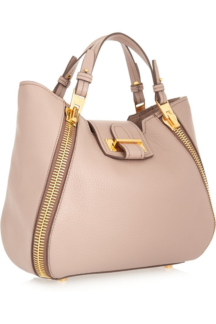 Tom Ford | Sedgewick small textured-leather tote.
