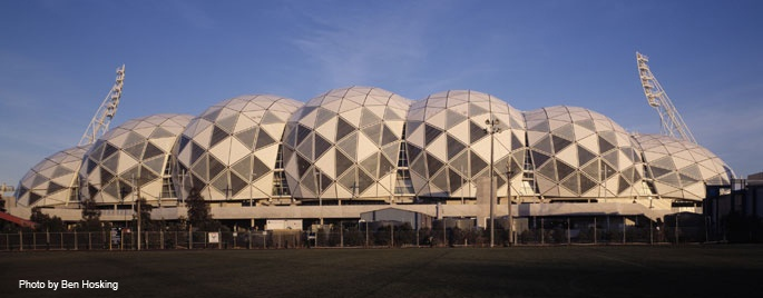 Melbourne and Olympic Park - AAMI Park  Address: Olympic Boulevard, Melbourne: House 2011, Architecture Melbourne, Open House, Melbourne Open, Aami Parks, Parks Address, Inspiration 2020, Olympic Parks, Olympic Boulevard